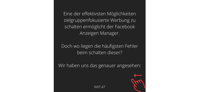 Fehler bei Facebook Werbung vermeiden